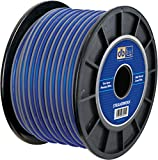 Strandworx SXSW12BL250 12-Gauge/250-Feet Strandworx Soft Touch Power Wire (Blue)