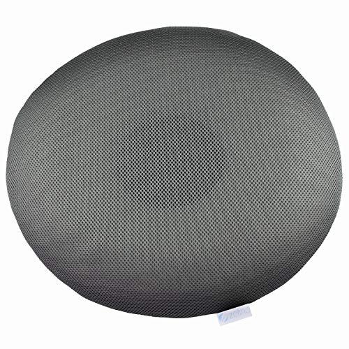 ZOFINO Rad, orthopädisches Sitzkissen, 44 cm x 39 cm x 8 cm, Kissenbezug aus 3D-Abstandsgewebe, Sitzring, orthopädisches Kissen in Ringform, hochwertige Materialien