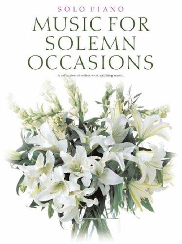 Music for Solemn Occasions (Solo Piano)