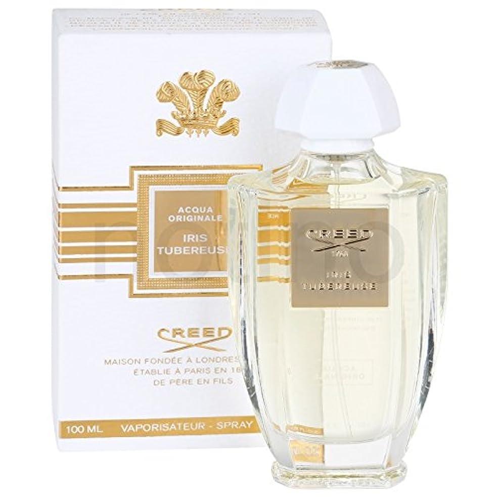 魅惑的な新鮮な八Creed Acqua Originale Iris Tubereuse (クリード アクア オリジナル アイリス チュベローズ) 3.3 oz (100ml) EDP Spray for Women