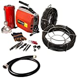 Steel Dragon Tools® K60 Sectional Drain Pipe Cleaning Machine fits RIDGID® C1 (5/16in.) C8 (5/8in.) Cable
