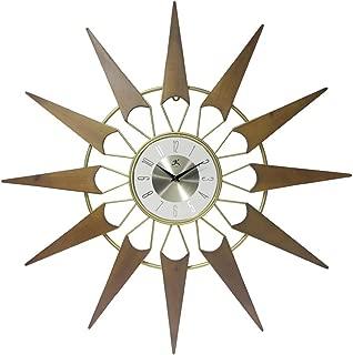 Best mid century modern clock starburst Reviews