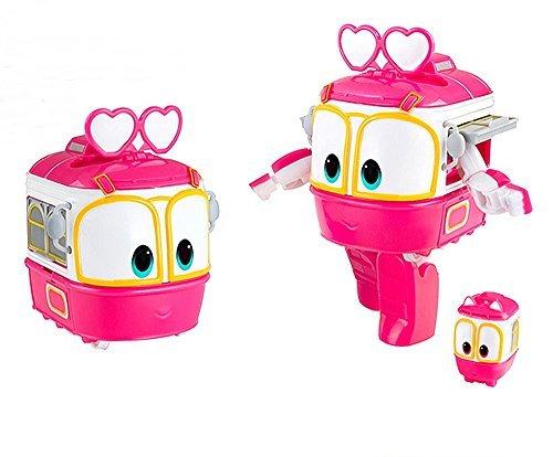 SALLY personaggio Robot Trains Trasformabile 10 cm