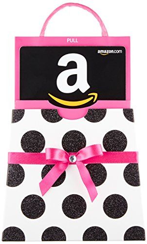 Amazon.com Gift Card in a Polka Dot Reveal