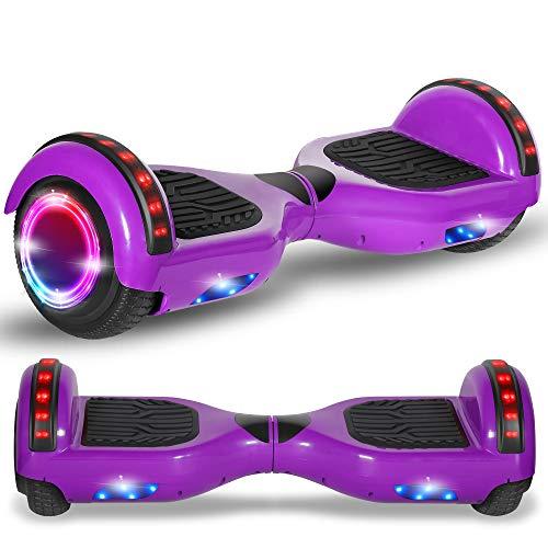 Beston Sports Newest Generation Electric Hoverboard Dual Motors Two Wheels Hoover Board Smart self...