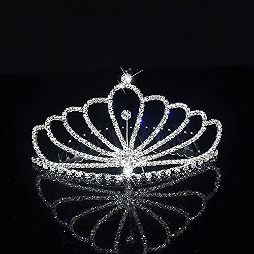 Peinetas para el cabello de novia de cristal de moda Accesorios para...