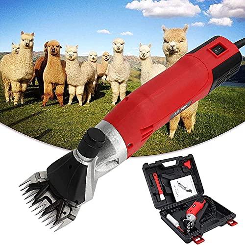 CFLDSG Cizallas de ovejas, máquina de cizallamiento eléctrico Profesional de Servicio Pesado...