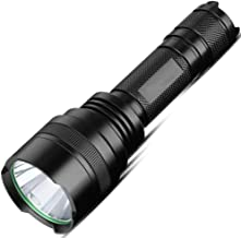 Super Light Flashlight, Long-Range, Rechargeable, Cycling, Outdoor Lights, Sturdy, Anti-Pressure, Battery Life, Waterproof...