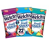 Includes (22) 2.25 oz large 2 serving bags. Including flavors: Mixed Fruit, Island Fruit & Berries 'N Cherries. Delicious fruit snacks where fruit is the 1st Ingredient. Excellent source of Vitamins A, C & E. Gluten free, fat free & preservative free...