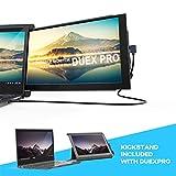 Mobile Pixels Duex Pro ポータブルデュアルモニター ノートパソコン用 12.5インチ フルHD IPSノートパソコンスクリーン USBタイプA タイプC 軽量 明るさ調節可能 アンチグレアポータブルスクリーン Duex Pro with Kickstand