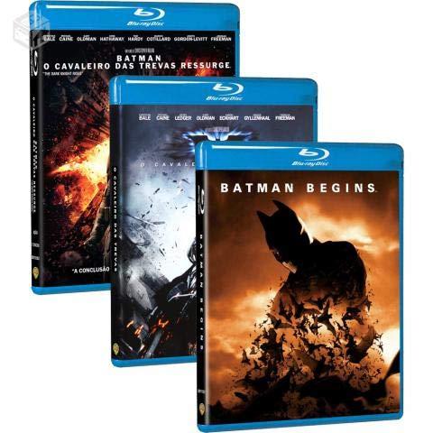 Batman O Cavaleiro das Trevas - Trilogia Blu-ray