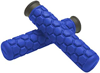 Spider Grips A3-BL Blue A3 Grips for ATV, Watercraft and Snowmobiles