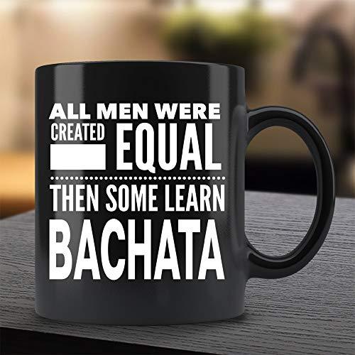 Tamengi All Men – Lernen Sie Bachata-Tanz – Geschenk für lateinamerikanische Tänzer – Geschenk für Mann/Lehrer/Instructor Guy – Schwarze Kaffeetasse, 325 ml