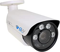 GW Security 5 Megapixel 2592 x 1920 Pixel Super HD 1920P Weatherproof H.265 Network PoE 1080P Security Bullet IP Camera with 5.1-51mm 10X Motorized Zoom Len and 4Pcs Array LED up to 160FT IR Distance