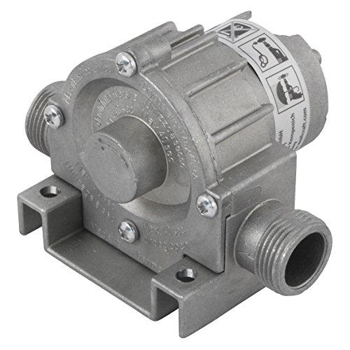 wolfcraft Bohrmaschinen Pumpe mit Metallgehäuse 2200000; Selbstansaugende Wasserpumpe mit bis zu leistungsstarken 3000 l/h – ideal als Gartenpumpe oder zum Auspumpen verschiedener Wasserbetten