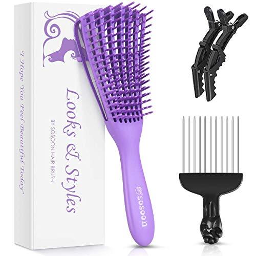 Detangling Brush, Hair Detangler Brush for Natural Hair, Hair Brush...