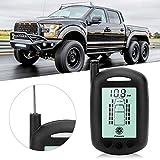 Sistema di monitoraggio della pressione dei pneumatici LCD TPMS con 6 sensori esterni per camper universali per camion