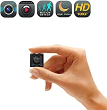 Mini Spy Camera, 1080P Hidden Camera Portable Spy Cam with Night Vision and Motion..