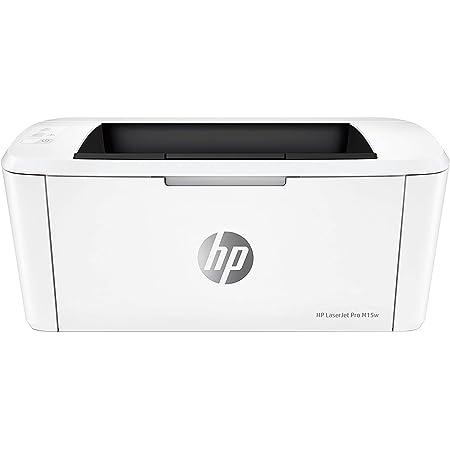 HP LaserJet M15w Stampante Laser Bianco e Nero, Wi-Fi Direct, Tecnologia Risparmio Energetico, Design Moderno e Compatta, Bianco