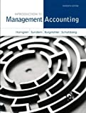 Introduction to Management Accounting (Myaccountinglab)