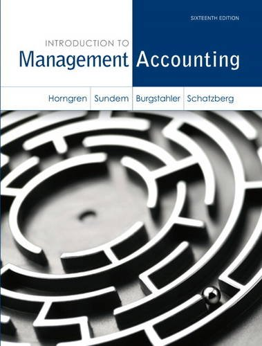 Download Introduction to Management Accounting (Myaccountinglab)