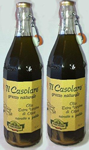 Olivenöl Il Casolare extra vergine 2x 1 Lit. naturtrüb