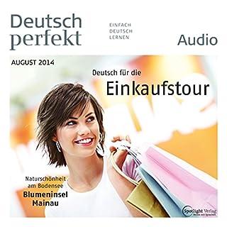 Deutsch perfekt Audio. 8/2014 audiobook cover art