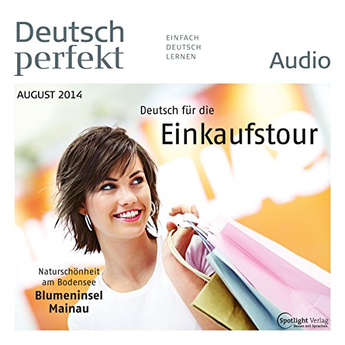 Deutsch perfekt Audio. 8/2014 Titelbild