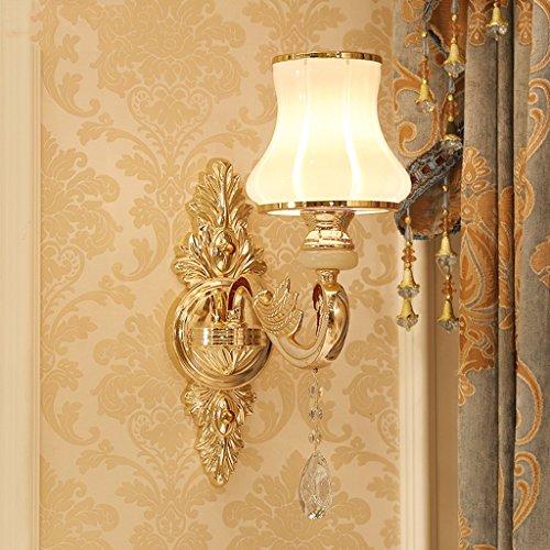 Applique murale Living Room Aisle appliques murales lampe de chevet chaude (style : A)