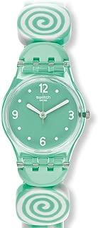 Swatch Women's LG126B Sminty S Year-Round Analog Quartz Green Watch