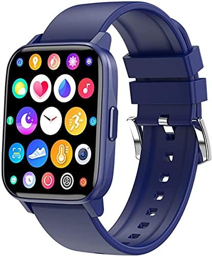 Reloj inteligente inteligente inteligente para teléfonos Android y teléfonos Ios Fitness Tracker impermeable IP67 con monitor