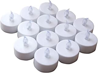 Realistic Bright, Flameless LED Tea Lights Candles, Battery Powered LED Tealight Candles, Fake Candles Tea Lights(50pack)