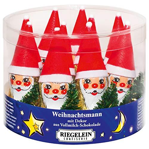 Milchschokolade vereitelt Christmas Santa mit Baum Voller Kasten 10 x 14g Bonbons