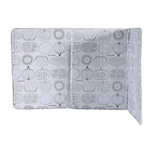 Zerodis Pantalla antisalpicaduras para Cocina, Placa Anti Salpicaduras antisalpicaduras de Aceite fácil de Limpiar con el Dibujo de 39 * 84 cm