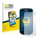BROTECT Schutzfolie kompatibel mit Samsung Galaxy S3 Mini I8190 (2 Stück) klare Bildschirmschutz-Folie
