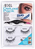 ARDELL Deluxe Pack, 2x Paar Echthaarwimpern mit...