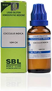 SBL Homeopathy Cocculus Indicus (30 ML) (Select Potency) by USAMALL (30 CH)