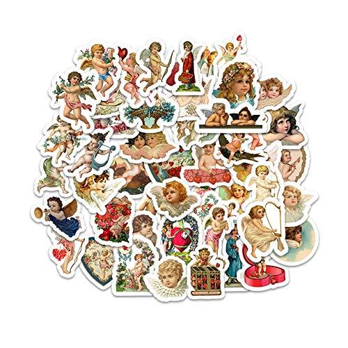 Cartoon Leuke Droom Engel Stickers Voor Skateboard Laptop Gitaar Kids Speelgoed Sticker Waterdichte Decals Leuke Meisjes Serie Speelgoed 50 stks