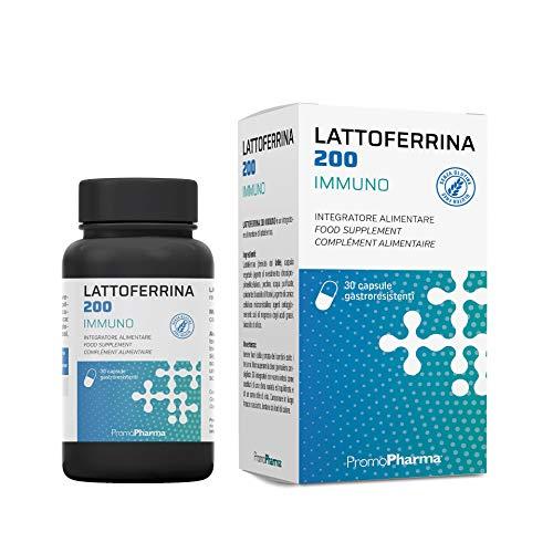 PromoPharma Lattoferrina 200 Immuno Capsule - 10.5 ml