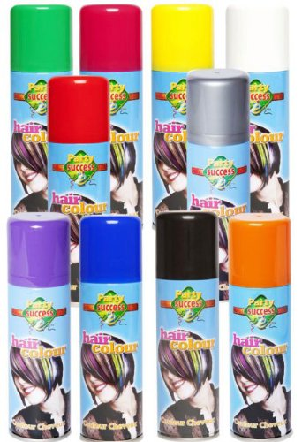 Bombe couleur a cheveux - Deguisement - 125 ml - Rose - 38891