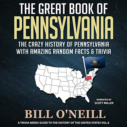 The Great Book of Pennsylvania audiobook cover art