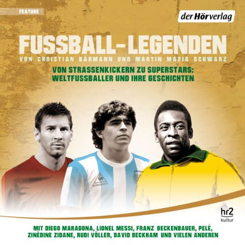 Fußball-Legenden audiobook cover art