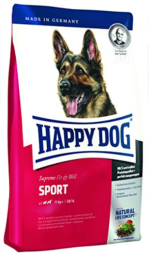 Happy Dog Hundefutter 60030 Adult Sport 15 kg