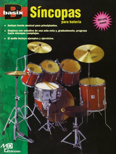 Basix Syncopation for Drums: Spanish Language Edition, Book & CD