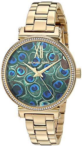 Michael Kors dames analoog kwarts horloge met roestvrij stalen armband MK3946