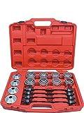 WIN.MAX 28PC Master Press & Pull Sleeve Kit Remove Bearings Bushes Seals Garage Tools
