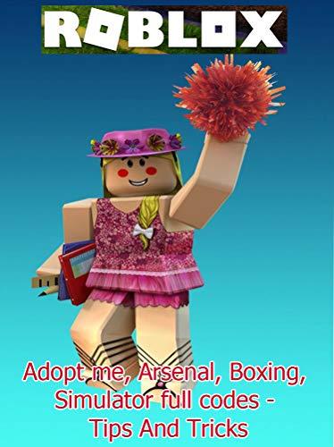 Amazon Com Roblox Adopt Me Arsenal Boxing Simulator Full Codes