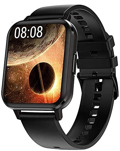 2021 DALIL DTX 1.78  Smartwatch Orologio Sportivo Uomo Donna IP68 Impermeabile, Con saturimetro misura pressione sanguigna Monitoraggi Saluti Funzioni Sport per Android e iOS (Nero)