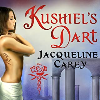 Kushiel's Dart audiobook cover art