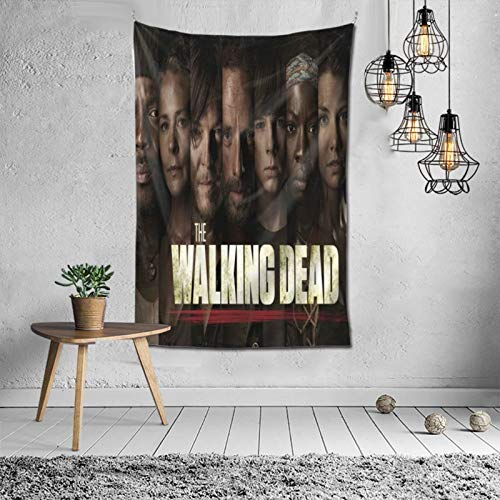 MikeyMillar Tapestry Large Wall Hanging The Walking Dead Fashion Tapestry Multipurpose Tapestries Wall Art Home Decorations for Living Room Bedroom Dorm Decor 60X40inch
